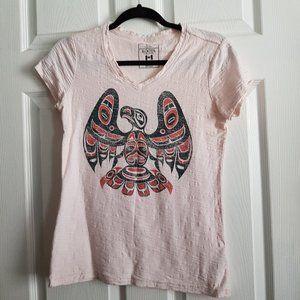 Roots Bird Print T-Shirt